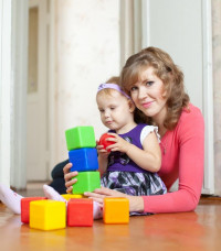 Развивающие занятия для детей от года до двух лет