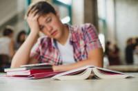 Выпускные экзамены для школьника
