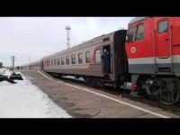 Поезд в Архангельск будет приезжать на час раньше